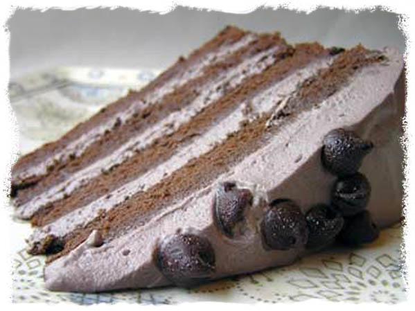 Glutenfri luftig sjokoladekake