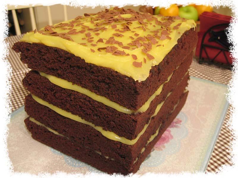 Verdens beste og høyeste sjokoladekake.
