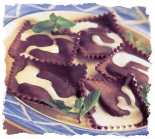 Sjokoladeravioli